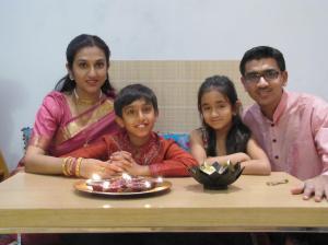 Manu Khajuria_Family